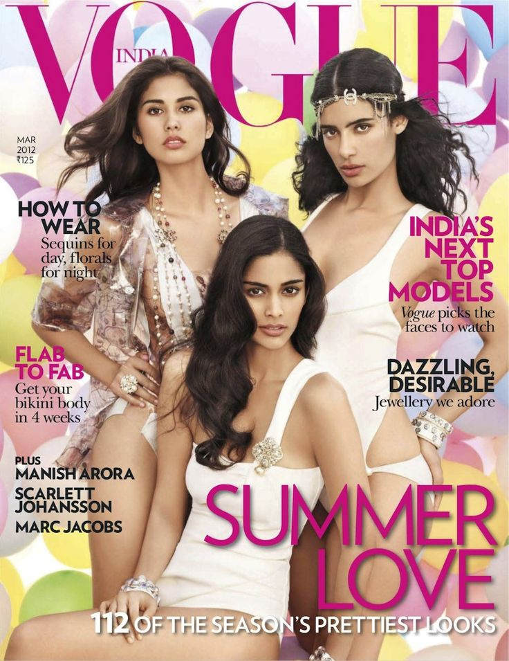 fashion's new faces: alyssah ali, jessica clark and ashika pratt by marcin tyszka for vogue india march 2012 | visual optimism; fashion editorials, shows, campaigns & more!