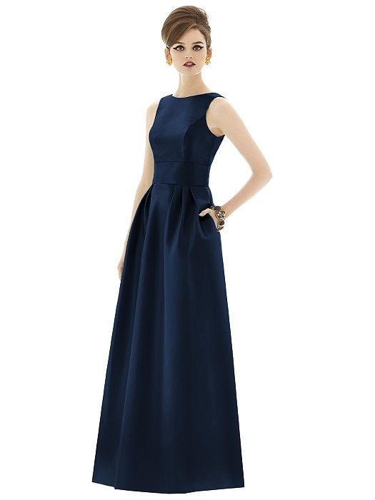 Alfred Sung Style D661 http://www.dessy.com/dresses/bridesmaid/d661/?color=midnight&colorid=47#.Uqpaa_RDtMg