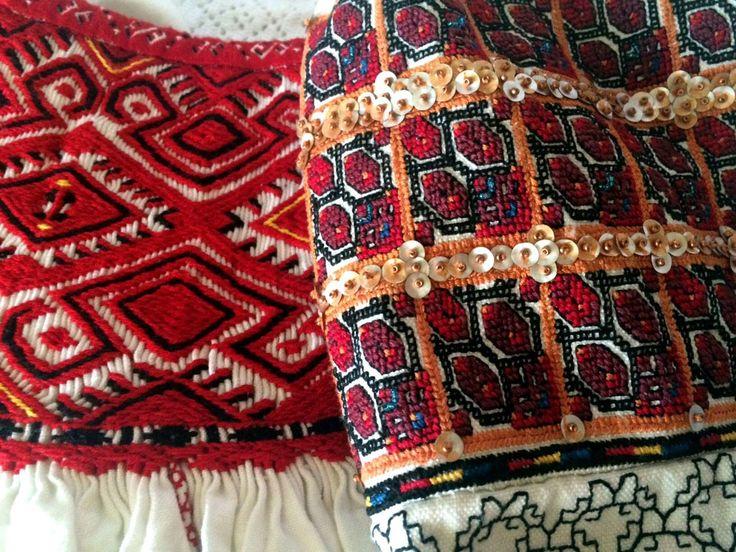 Romanian Blouses - details (ciupag, altita)