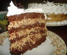 """Шоколадный торт """"крем- карамель"""" - Простые рецепты Овкусе.ру"""