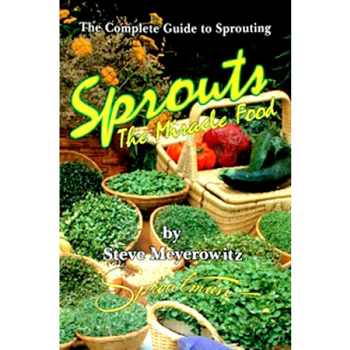 Sprouts - The Miracle Food - 204 Pages - Sprouters - FOOD PROCESSING - HOME & KITCHEN