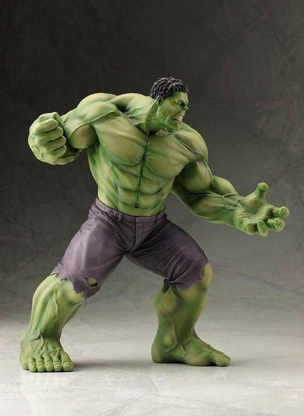 "Estátua simplesmente fodástica ""O Incrível Hulk"" ~ SuperVault #Marvel"