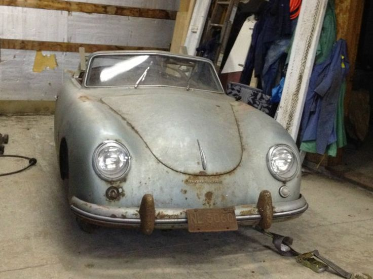 Porsche 356 Find PictureBarn FindsMotor CarPorsche