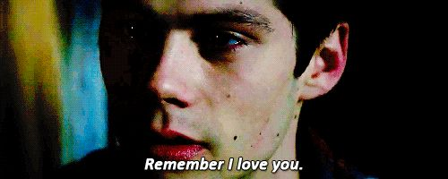"Teen Wolf - Season 6 - Stiles gif NEW TEEN WOLF TRAILER - ""REMEMBER THAT I LOVE YOU"""