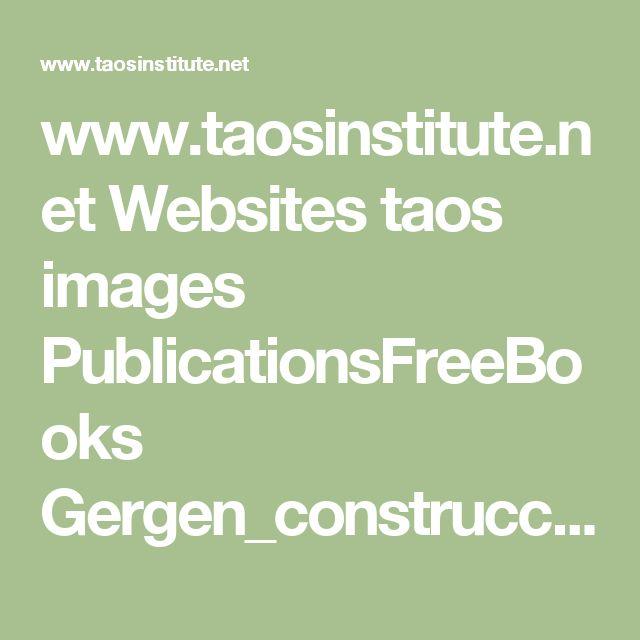 www.taosinstitute.net Websites taos images PublicationsFreeBooks Gergen_construccionismo_social.pdf