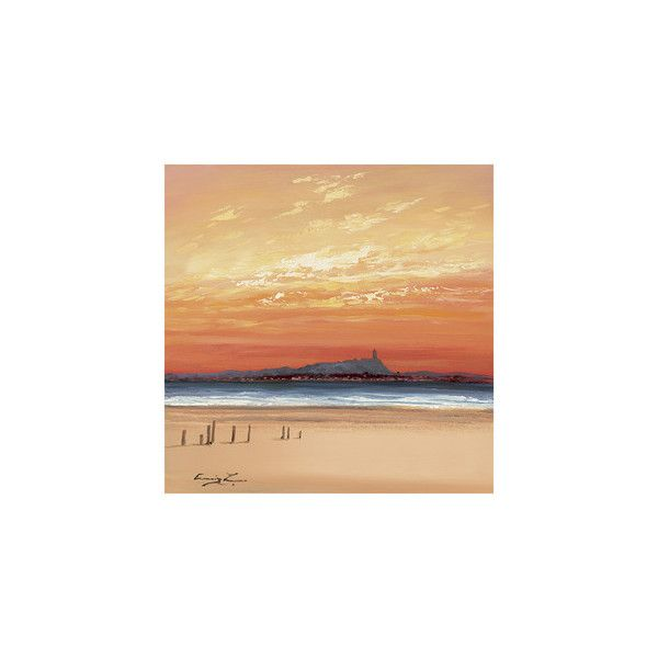 Scrabo Tower Wall Art Print ($20) ❤ liked on Polyvore featuring home, home decor, wall art and artists-william cunningham