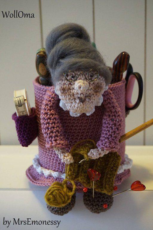 Woll Oma | # 2Crochet ✰ Häkeln ✰ Uncinetto* | Pinterest
