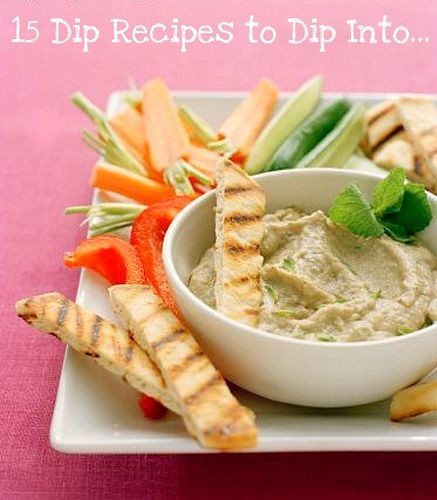 Arabic Food Recipes: Lemon Cilantro Eggplant Dip Recipe