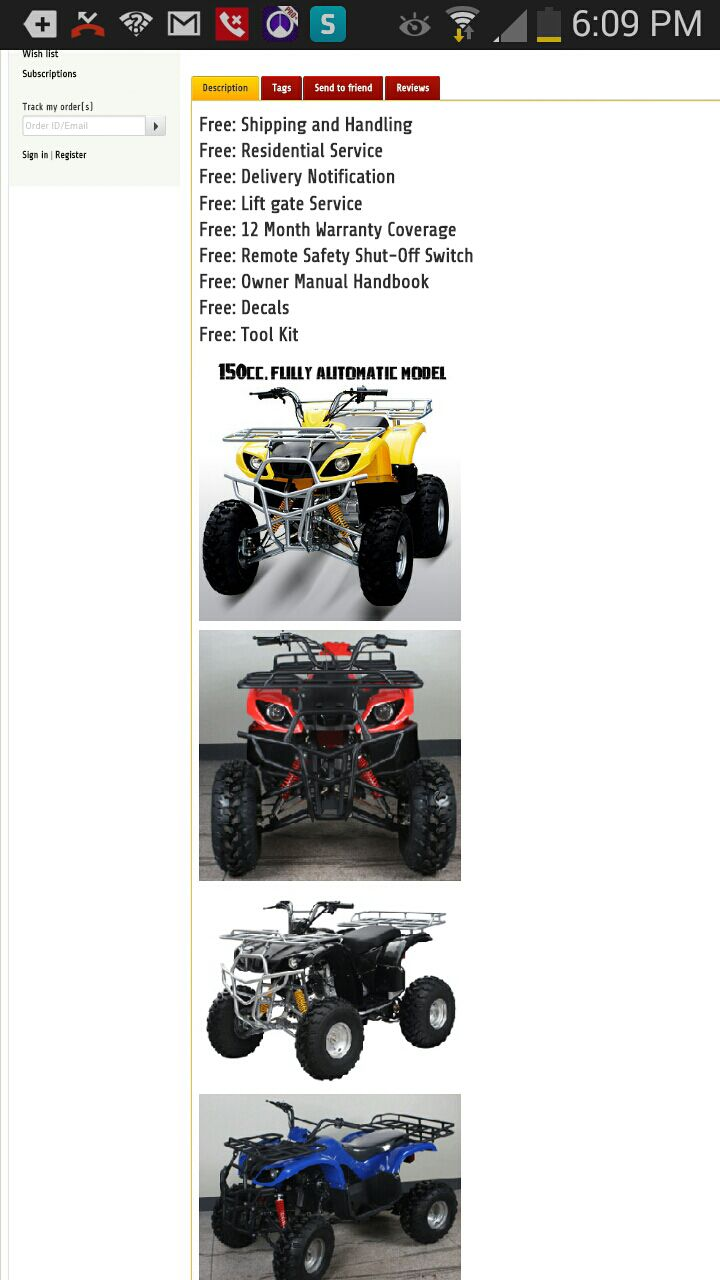 Adult ATVs kids ATVs starting price is $569 come check us out xtreme fire power mention this ad getting additional $25 off