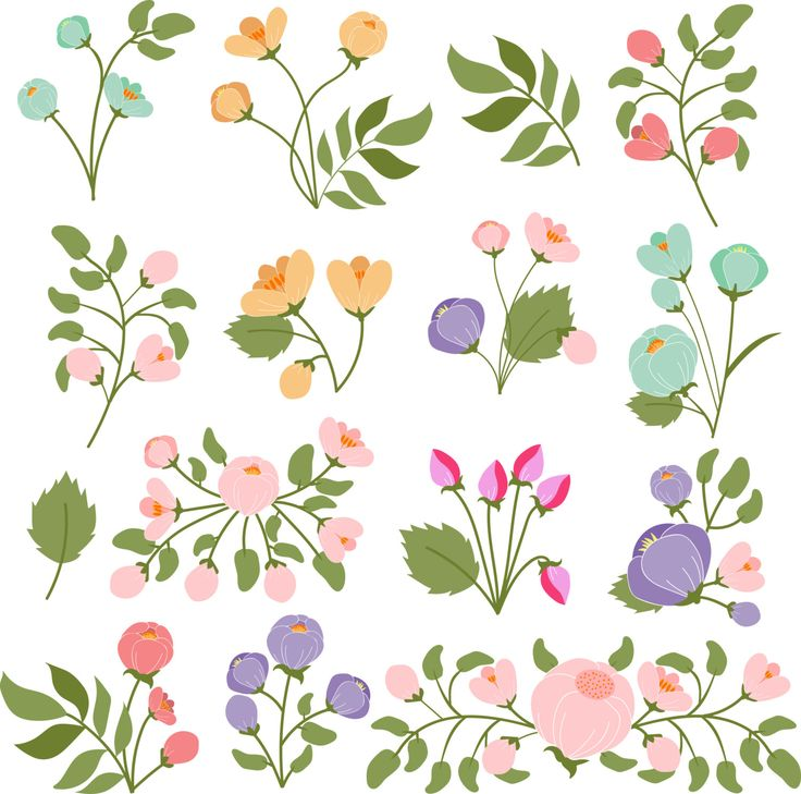 Bouquets of flowers by Orangepencil on Etsy