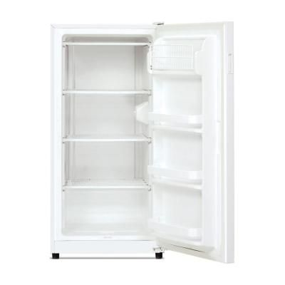 upright freezer in the home