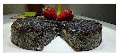 Mák torta egészségesen ,liszt nélkül