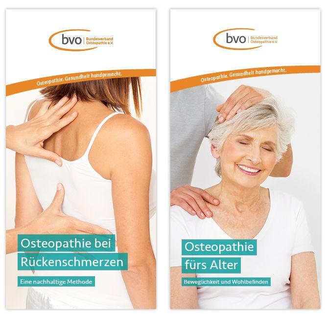 Kommunikationsmittel des Bundesverband Osteopathie e.V. - BVO für Patienten