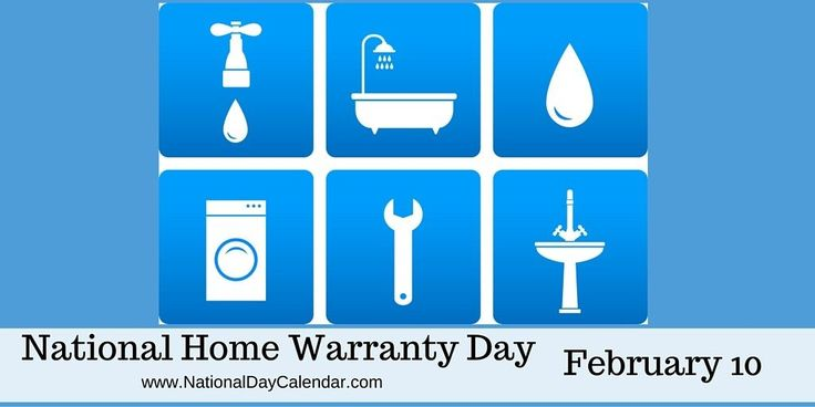 National Home Warranty Day - February 10