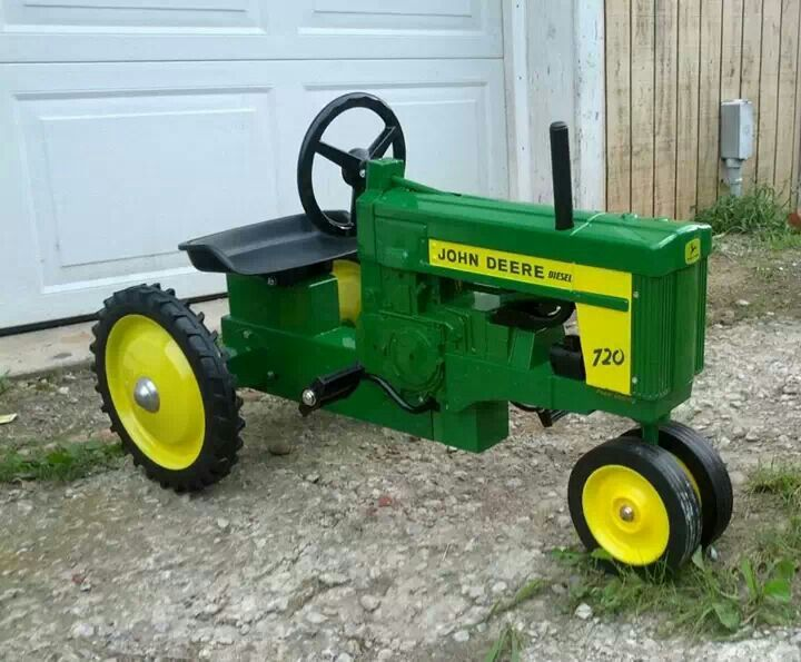 Junior Pedal Tractors Antique : Best images about pedal tractors on pinterest cars