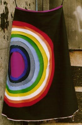 Alison Willoughby  Layered cotton circles........