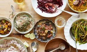 Sri Lankans like to serve a large spread featuring little pots of different treats, offering great variety and breadth of flavour. Six Sri Lankan-style curry recipes using British summer veg, from a sambol made with sorrel to curries of beetroot, courgette and runner beans, these recipes show how the British summer bounty can be put to use the Sri Lankan way