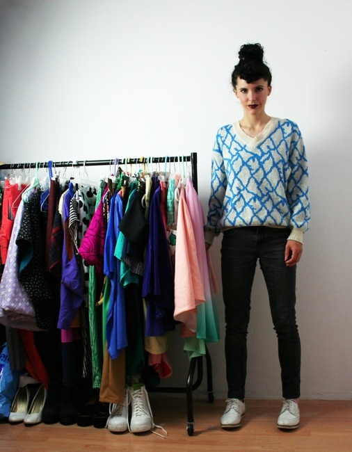 A Day in the Life of Rosie Martin - DIY Couture. Via Tilly and the Buttons.