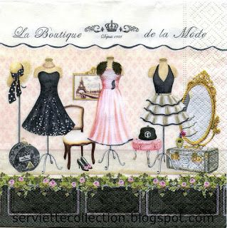 SERVIETTES COLLECTION: NEW NAPKINS APRIL 2013 for collecting or decoupage