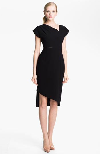 Rachel Roy Mesh Insert Sheath Dress available at Nordstrom