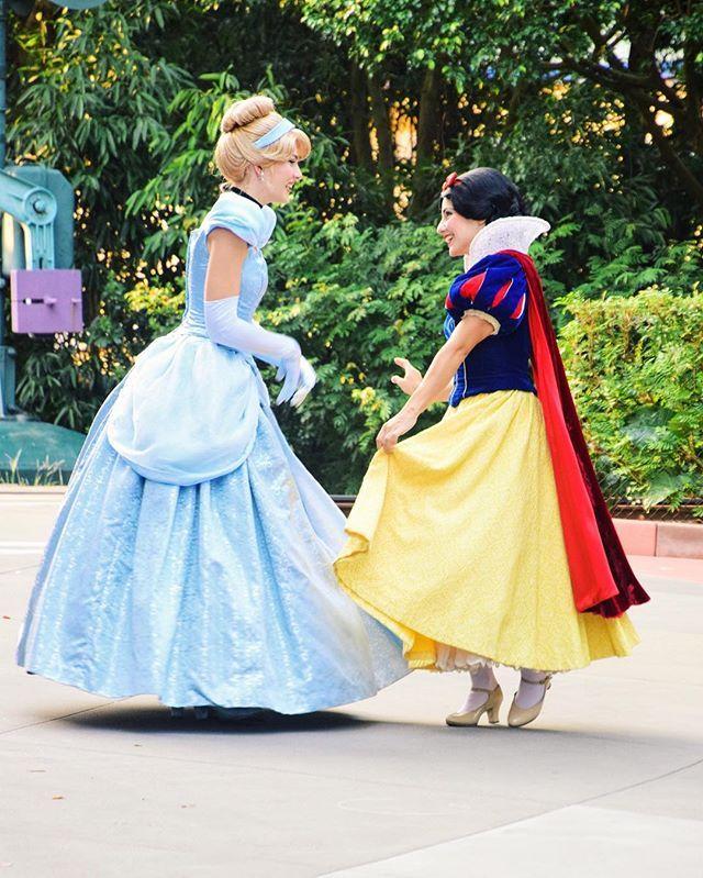 Cinderella and snow white