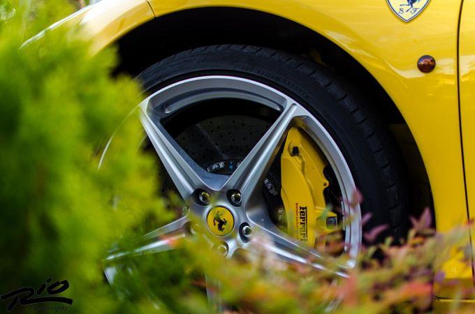 Photo by Razvan Oprea  Automotive Car Ferrari Yellow   https://www.facebook.com/RazvanOpreaPhoto?fref=photo