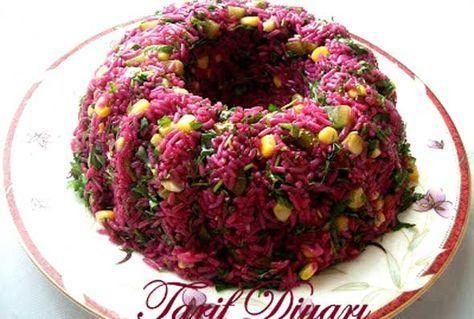 Pirinç Salatası Tarifi   Yemek Tarifleri Sitesi   Oktay Usta, Pratik Yemekler