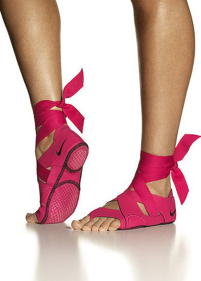 How do you feel about these Nike Yoga shoes? I love them! I always have trouble with sliding feet...