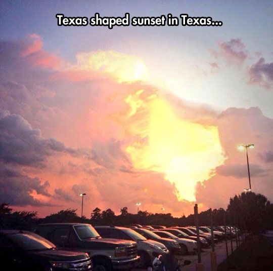 Just Further Proof That Texans Are The Chosen Ones