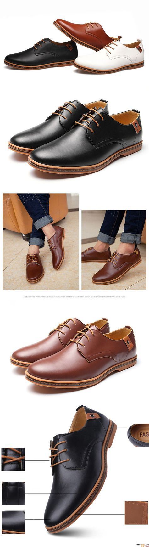 US$35.89+ Free Shipping. Large US Size 7.5-12 Men Business Shoes Flat Casual Soft Oxfords Shoes. Men's style, chic style, fashion style. Shop at banggood with super affordable price.