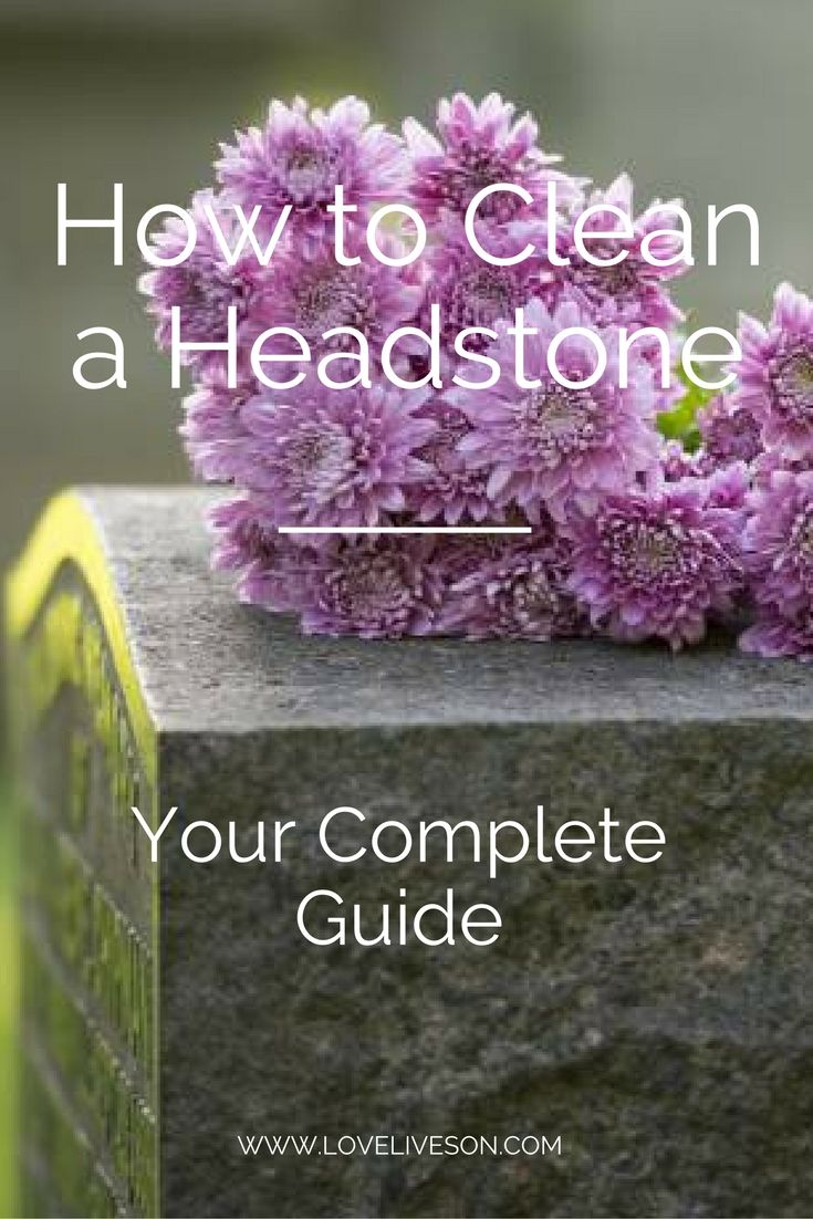 Use our Ultimate Guide on How to Clean a Headstone. Covers maintaining and restoring granite headstones, marble tombstones, and bronze grave markers.