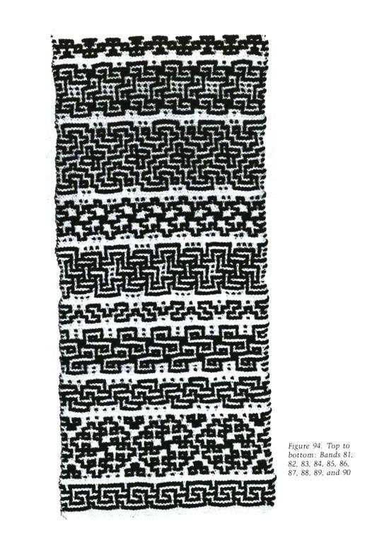 Mosaic Knitting Barbara G. Walker (Lenivii gakkard) Mosaic Knitting Barbara G. Walker (Lenivii gakkard) #149