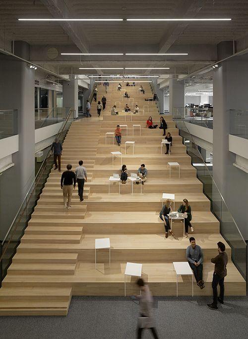 Mezzanine Library Design