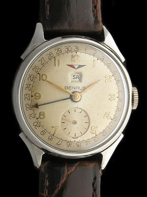 dating a benrus watch