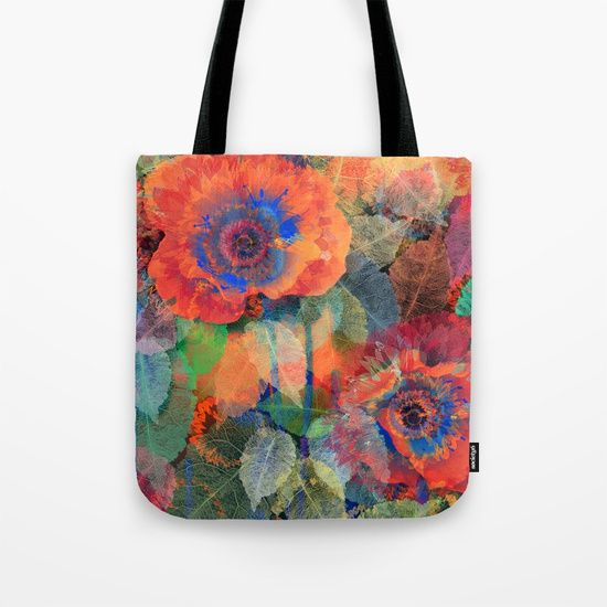 Floral abstract(62) Tote Bag