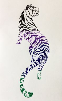 Tiger Tattoo Design #2 by NoreyDragon on DeviantArt
