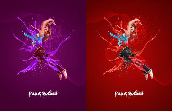 Paint Splash : 네이버 블로그