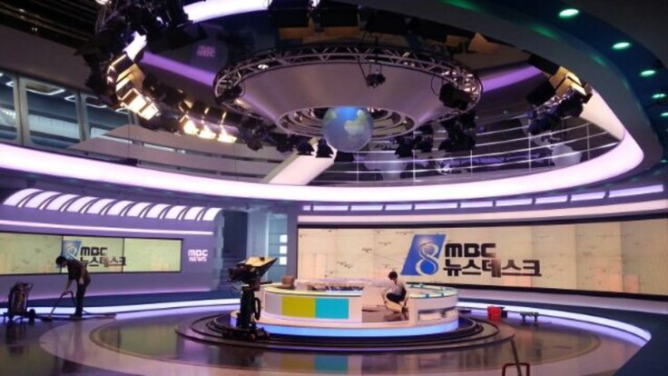 MBC 뉴스데스크, 지름 120cm의 iSphere 120