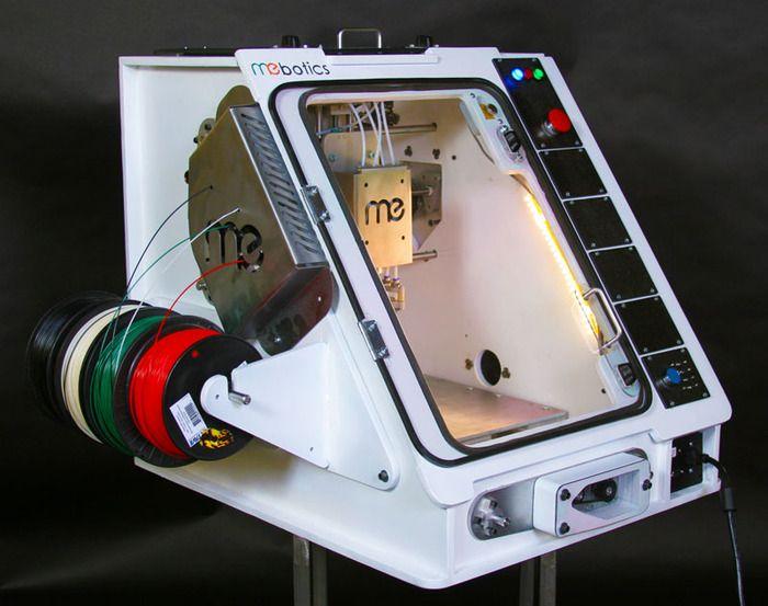 Mebotics Microfactory: Grabar, Fresar e Imprimir en 3D, todo en una misma máquina...