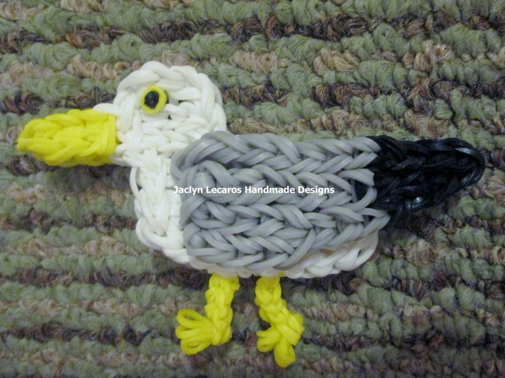 162 Best Images About Rainbow Loom Animal Figures On
