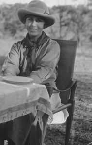 Izak Dinesen.. Danish author wrote 'Out of Africa' (based on her life) and 'Babettes Feast,' both were made into movies.