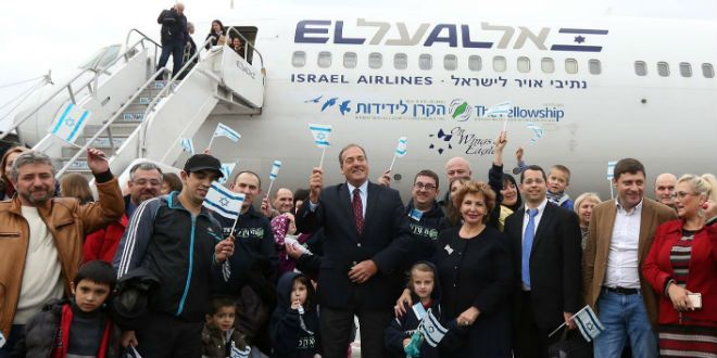CHRISTIANS HELPING 1 OUT OF 5 JEWS MAKING ALIYAH - IFCJ's Eckstein: Christians are at the Forefront of Prophetic Fulfillment - Breaking Israel News