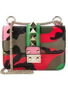 Valentino Garavani 'glam Lock' Shoulder Bag - Stivali - Farfetch.com