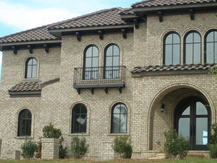 96 best brick archways images on pinterest brick archway for Face brick home designs