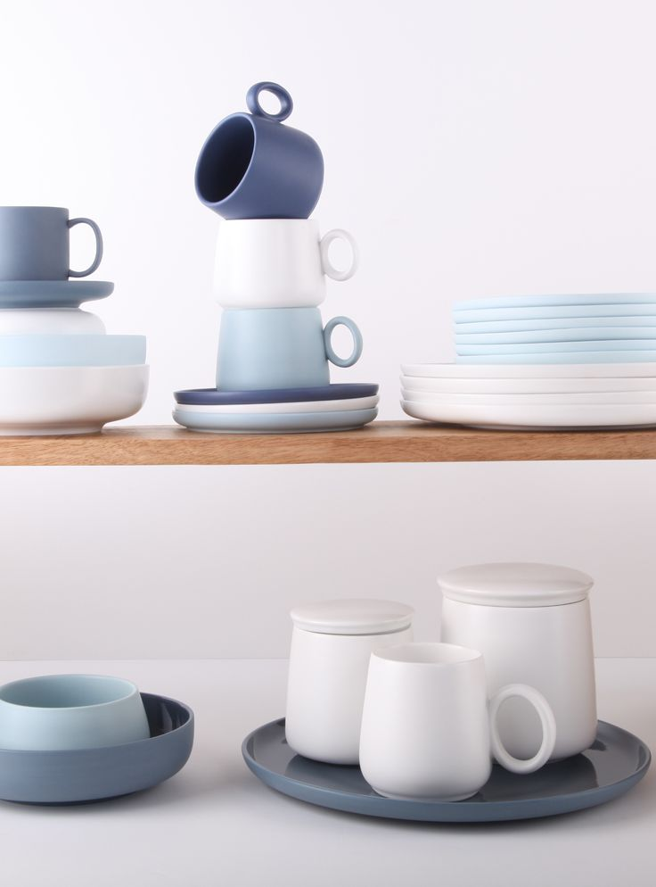 Ethos Living | Buy homewares online Australia | SOHO Collection | EMERSON Collection | Plates, bowls, mugs, teacups + saucers, canisters