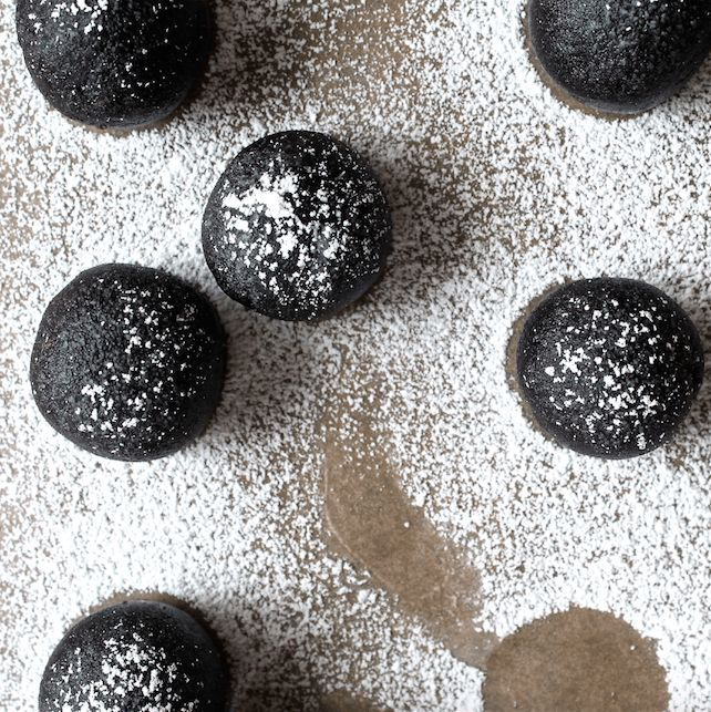 how to make rum truffle balls