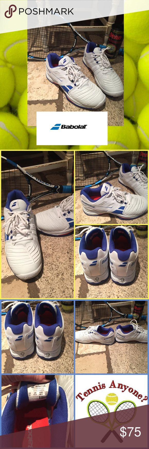 🎾Babolat SFX2-all court Men's tennis sneakers🎾 Men's Babolat SFX2- all court tennis sneakers. Were just bought, worn once but didn't work for my husband. In excellent condition. Babolat Shoes Sneakers