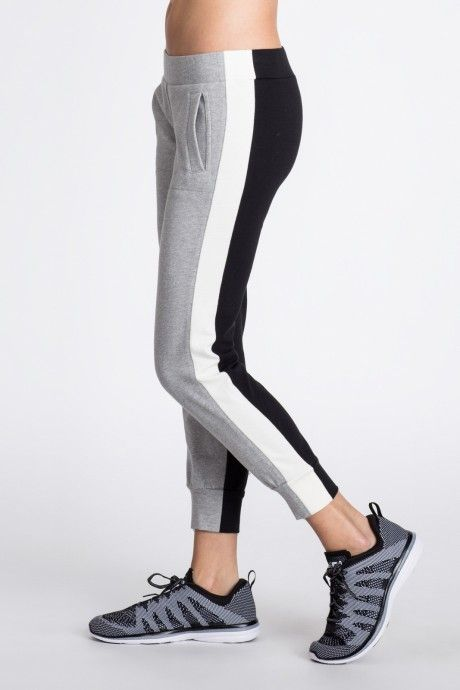 Side Stripe Jog Pant Combo  @bandiernyc