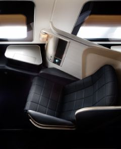 British Airway Seat in First class.