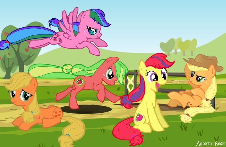 Applejack generations